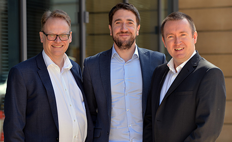 The Global Fixed Income team - David Roberts, Phil Milburn & Donald Phillips