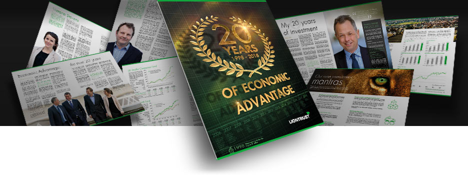 20 years of Economic Advantage