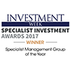 Investment Week - Specialist Group of the Year 2017