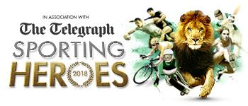 Community engagement and sponsorships - Telegraph Sporting Heroes